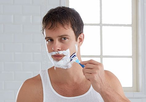 get rid of zits after shaving