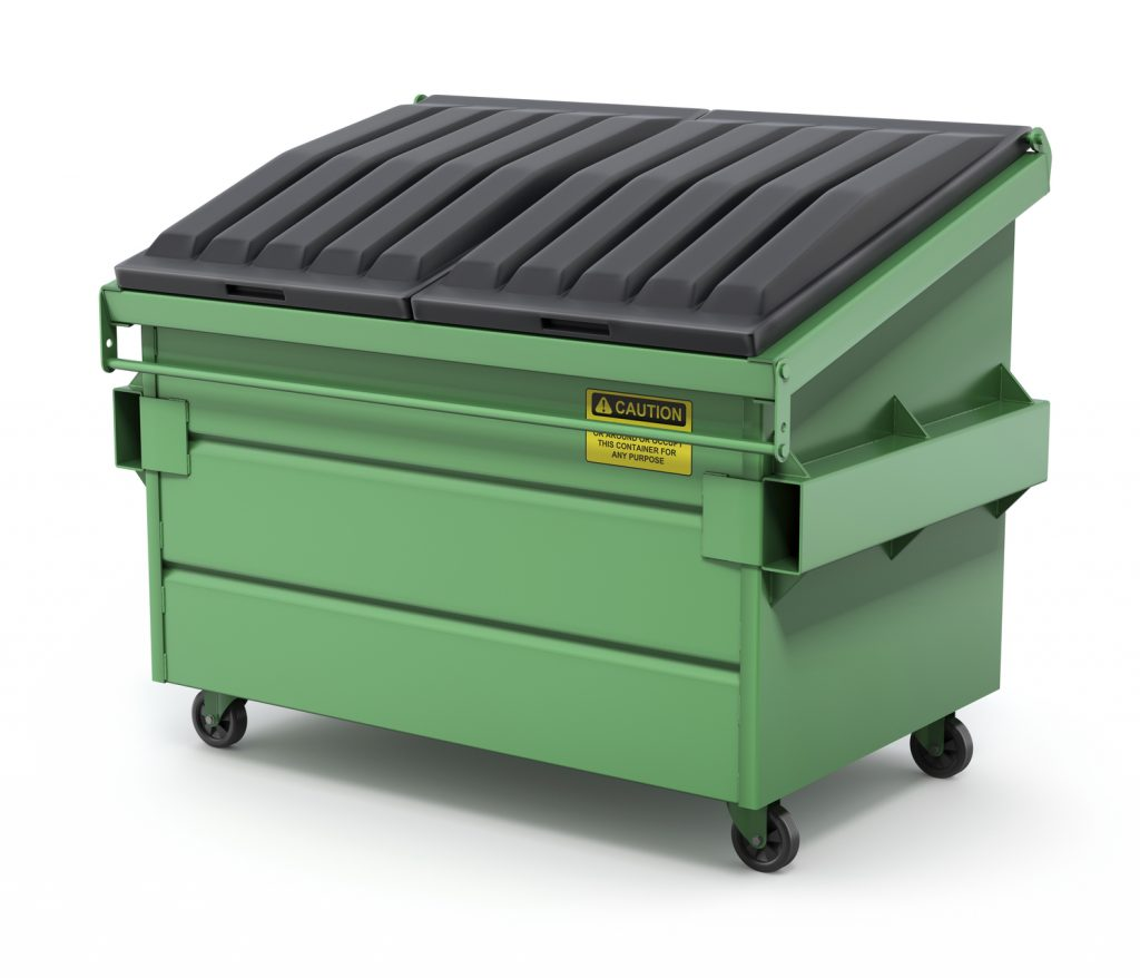 Renting a local dumpster