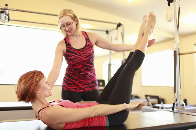 Pilates courses and training