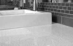 Clean White Quartz Countertops
