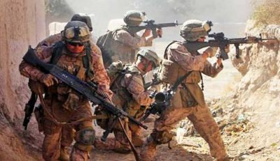 Strong US soldiers